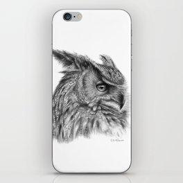 Eagle Owl G085 iPhone Skin