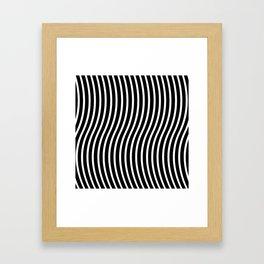 Bent Out Of Shape Framed Art Print