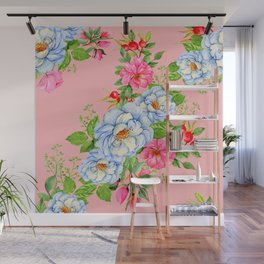 Vintage Floral Pattern No. 6 Wall Mural