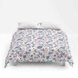 Chinese garden Comforters