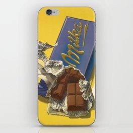Chocolate Candy Bar Vintage Art iPhone Skin