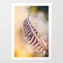 Let the wind carry you Art Print