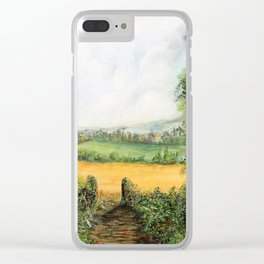 Forest Clearing - 1988 Clear iPhone Case