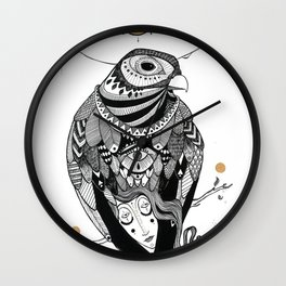 Bird Women 2 Wall Clock