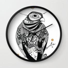 Bird Women 2 Wall Clock