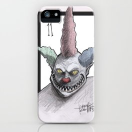 Clown number 11 iPhone Case