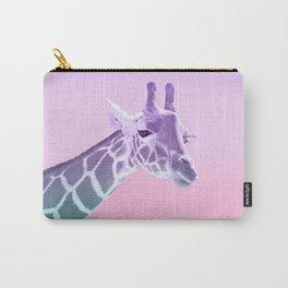 Unicorn Mermaid Giraffe Dream #1 #dreamy #decor #art #society6 Carry-All Pouch