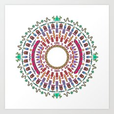 Wheel of Fortune. Art Print