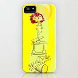 Dreaming is good for you iPhone Case
