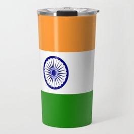 Flag of India Travel Mug