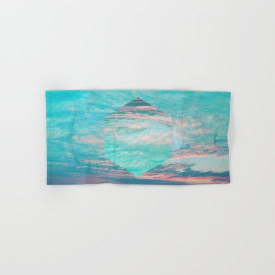 An underwater sunset Hand & Bath Towel