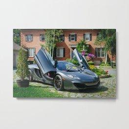 McLaren Mp4-12C II Metal Print