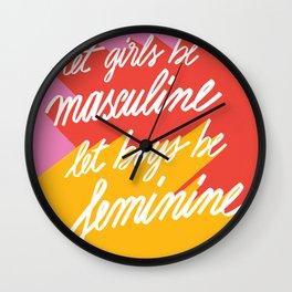 Girls & Boys Wall Clock