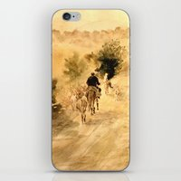 return iPhone & iPod Skins featuring Return Home by Vargamari