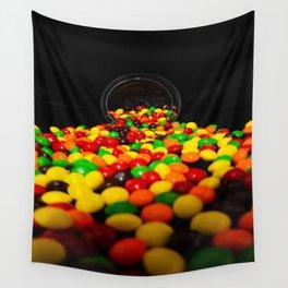 Spilling Skittles Wall Tapestry