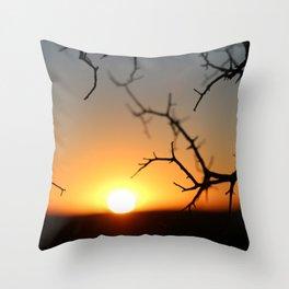 ball of fire Throw Pillow