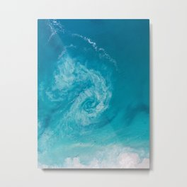 Rip Current Metal Print