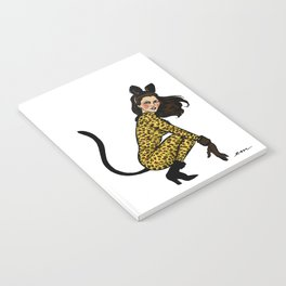 Kitty Cordy Pin up Notebook