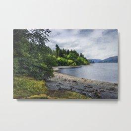Summer Lake Memories Metal Print