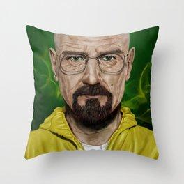 Walter White (Heisenberg) Throw Pillow