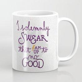 I am up to no good Coffee Mug