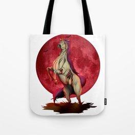 Halloween Zombie Unicorn Scary Monster Costume Tote Bag