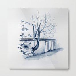 Untitled - albero Metal Print