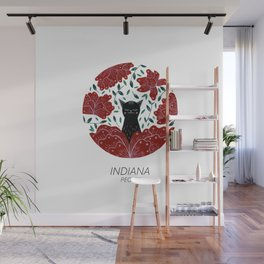 American Cats - Indiana Wall Mural