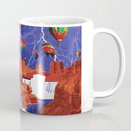 Thunderstorms Over Red Canyon Coffee Mug