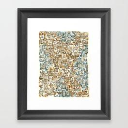 Be Headed Framed Art Print