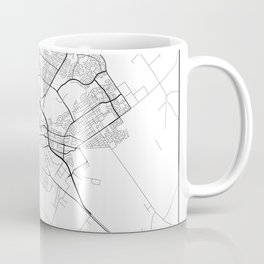 Minimal City Maps - Map Of Salinas, California, United States Coffee Mug