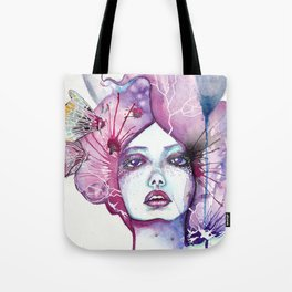 Lady Moon Tote Bag
