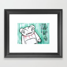 panda's friends Framed Art Print