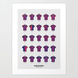 25 Years of Kits Barcelona Art Print