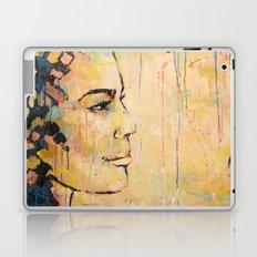 Looking to the Future -beautiful woman Laptop & iPad Skin