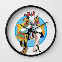 Los Pollos Hermanos Wall Clock