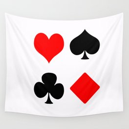 poker card figures Wall Tapestry