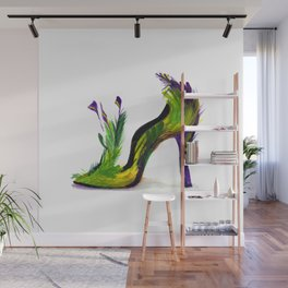 Feathered Heel Wall Mural