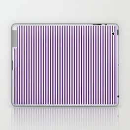 Purple Pinstripes Laptop & iPad Skin