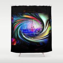 Sea   Romantic Shower Curtain