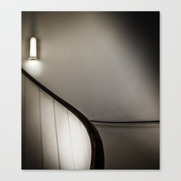 Light on Stairs Canvas Print
