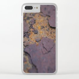 Rust on Rust rustic decor Clear iPhone Case