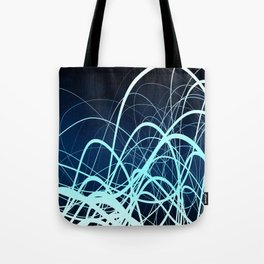 Blue Movement2 Tote Bag