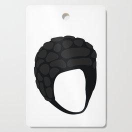 Rugby Helmet Cutting Board