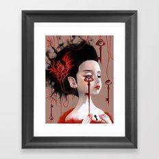 Sariel Framed Art Print