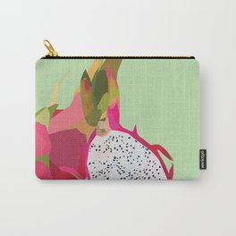 Geo Dragon Fruit Carry-All Pouch