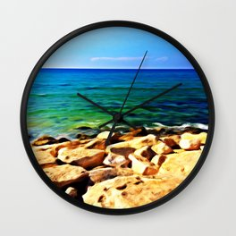 Ocean's Delight Wall Clock