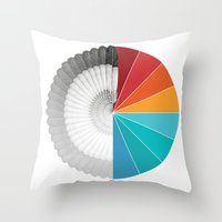 shield Throw Pillows featuring SHIELD by Ben Beaudoin