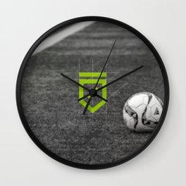 The Odder Site Football Wall Clock