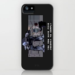 It's only a glitch, a temporary setback. iPhone Case